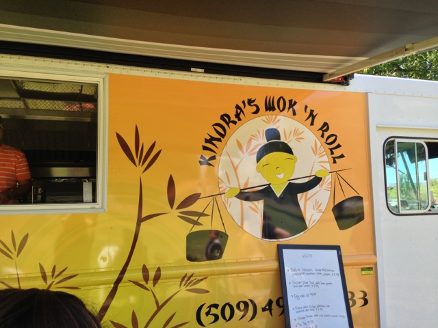 Wok And Roll Food Truck